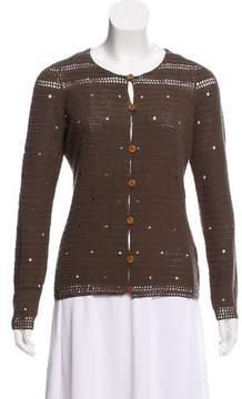 Bill Blass Knit Button-Up Cardigan w/ Tags