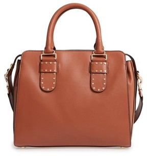Rebecca Minkoff Midnighter Leather Work Tote - Brown - BROWN - STYLE