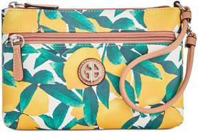Giani Bernini Saffiano Lemon Wristlet, Created for Macy's