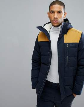Jack Wolfskin Lakota Puffer Jacket in Navy