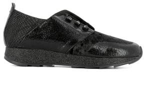 Henry Beguelin Women's Black Rubber Sneakers.