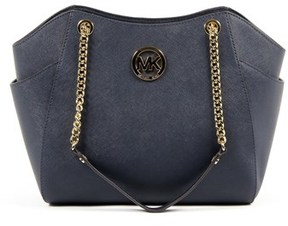 Michael Kors Womens Handbag Jet Set Travel. - BLUE - STYLE