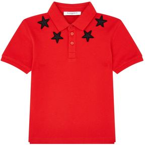 Givenchy Embroidered Star Polo Shirt