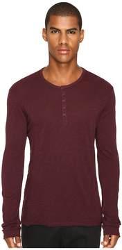 ATM Anthony Thomas Melillo Destroy Wash Henley Men's Clothing