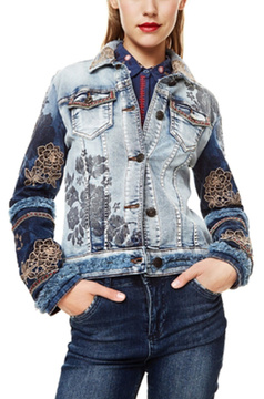 Desigual Blondiblues Denim Jacket