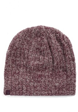 Barefoot Dreams Women's Circle Ribbed Beanie - Burgundy
