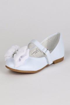 No Name Rhinestone Bow Shoes