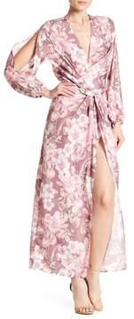Alexia Admor Drape Front Cut Out Dress