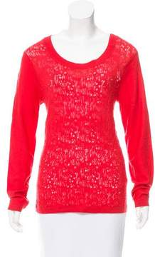 Timo Weiland Scoop Neck Long Sleeve Sweater