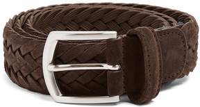 Andersons ANDERSON'S Woven-suede belt