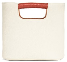 Simon Miller Mini Birch Leather Tote - Ivory
