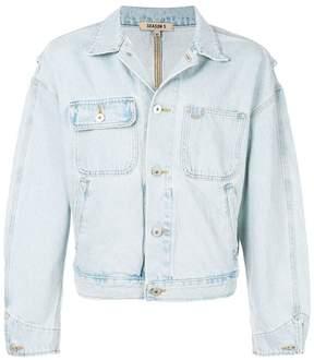 Yeezy oversized denim jacket