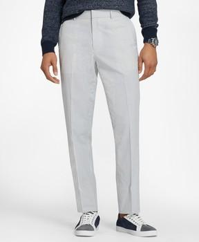 Brooks Brothers Cotton Seersucker Trousers