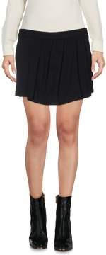 Blauer Mini skirts