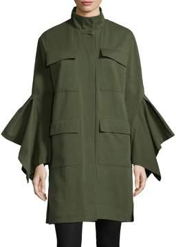 Edit Women's Cargo Cotton Coat