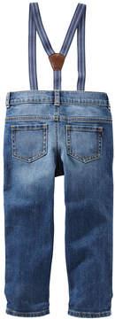 Osh Kosh Oshkosh Suspender Jeans Toddler Boys