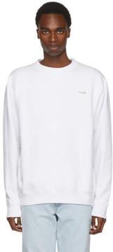 Off-White White Basic Off Crewneck Sweatshirt