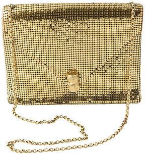 One Kings Lane Vintage Gold Whiting & Davis Envelope Bag