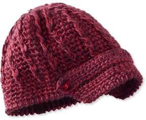 L.L. Bean L.L.Bean Pistil Clara Knit Brim Hat Womens
