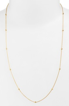 Argentovivo Women's Long Station Necklace
