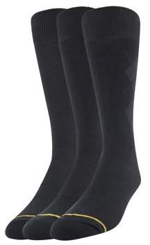 Gold Toe Gt a Goldtoe Brand GT by Men's Extended Size Rayon Dress Socks 3-Pack