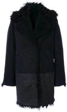Drome textured oversized coat