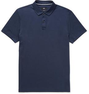 HUGO BOSS Slim-Fit Cotton-Jersey Polo Shirt