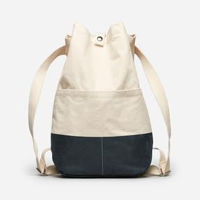 Everlane The Beach Canvas Backpack