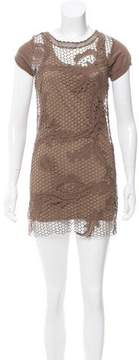 CNC Costume National C'N'C Crochet Mini Dress w/ Tags