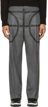Givenchy Grey Basketball Pillar Trousers