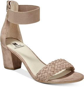 White Mountain Eryn Block-Heel Dress Sandals Women's Shoes