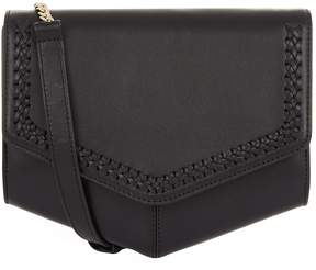 Sandro Woven Cross Body Bag