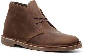 Clarks Men's Bushacre Leather Chukka Boot