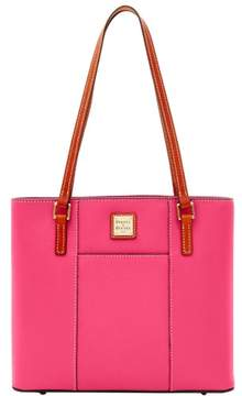 Dooney & Bourke Pebble Grain Small Lexington Shopper Bag - HOT PINK - STYLE