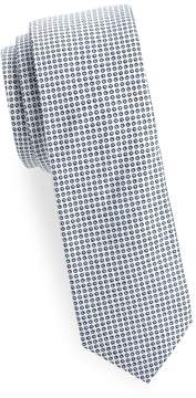 Joe's Jeans Collection Men's Circle-Print Slim Cotton Tie