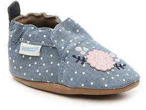 Robeez Girls Bouquet Infant Crib Shoe