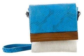 Devi Kroell Snakeskin Crossbody Bag