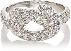 Finn Women's Pavé Jumbo Love Knot Ring