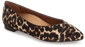 Vionic Women's 'Caballo' Pointy Toe Flat