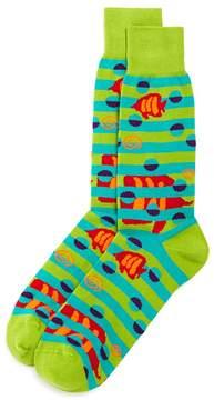 Bloomingdale's The Men's Store at Fish Socks - 100% Exclusive