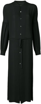 EN ROUTE belted shirt dress