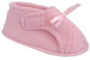 Muk Luks Women's Microchenille Front Flap Adjustable Boot