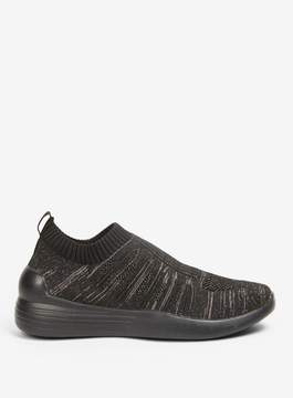 Dorothy Perkins Black Icicle Mesh Trainers