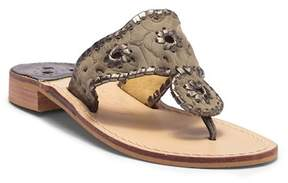 Jack Rogers Cloque Couture Thong Sandal