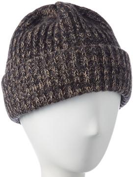 Portolano Men's Ribbed Cashmere, Silk, & Wool-Blend Cashmere Hat