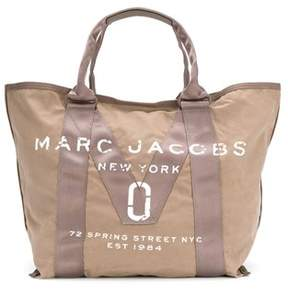 Marc Jacobs Women's Brown Cotton Tote. - BROWN - STYLE