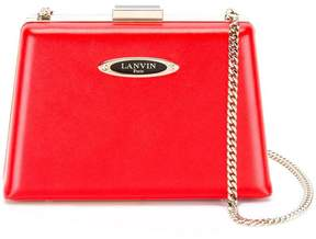 Lanvin Le Petit Sac box clutch