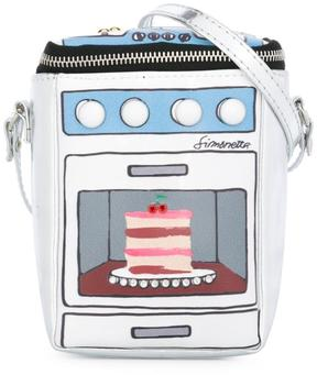 Simonetta oven cake printed shoulder bag