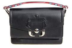 Paula Cademartori Women's Black Leather Handbag.