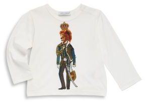 Dolce & Gabbana Baby's Cotton Lion T-Shirt